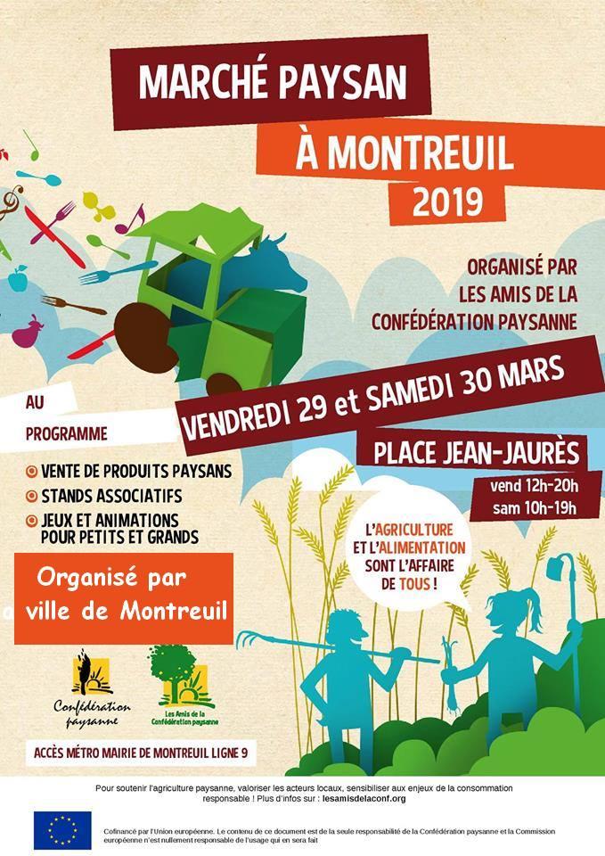 marche paysan de montreuil